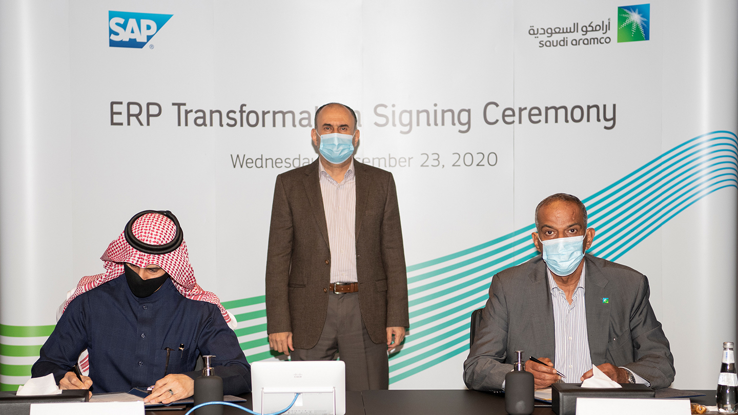 Aramco continues progress in digital transformation with SAP strategic alliance