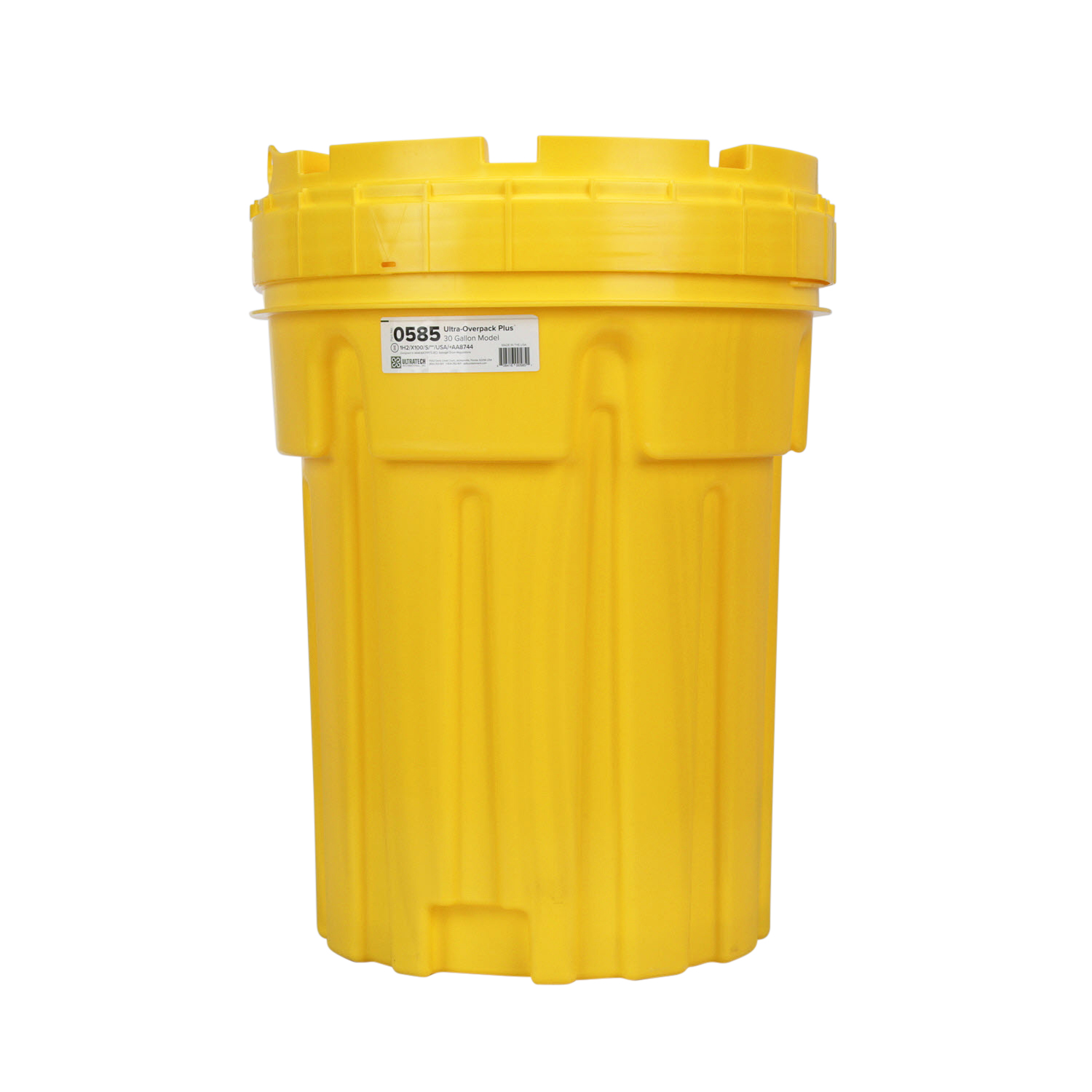 SPILL KIT CHEMICAL 30 GALLON OVERPACK DRUM