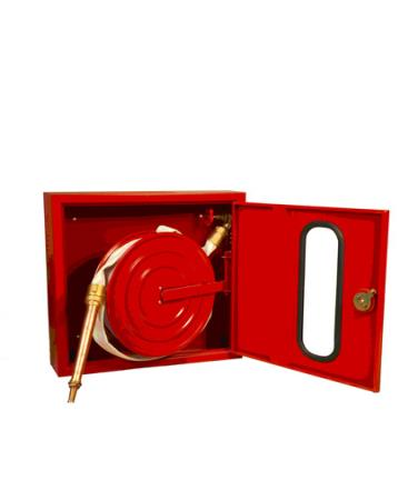 1.5 INCH SYNTHETIC HOSE REEL FIRE CABINET