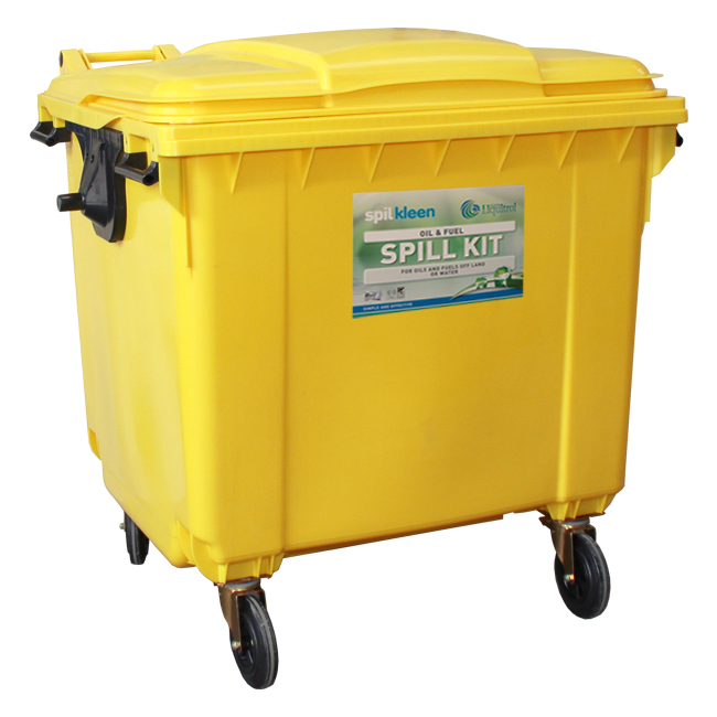 SPILL KIT 800 LITER OIL & FUEL MOBILE LOCKER SC-141-207
