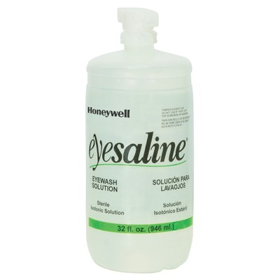 HONEYWELL EYESALINE ® 32 & 16 oz. EMERGENCY EYE WASH STATION REFILL