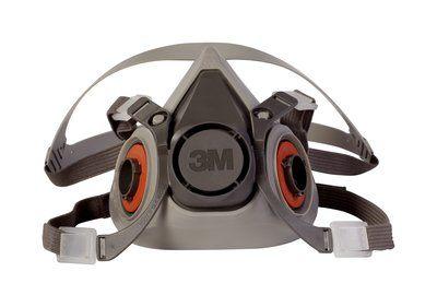 3M™ HALF FACE PIECE REUSABLE RESPIRATOR 6100 SMALL/6200 MEDIUM/ 6300 LARGE