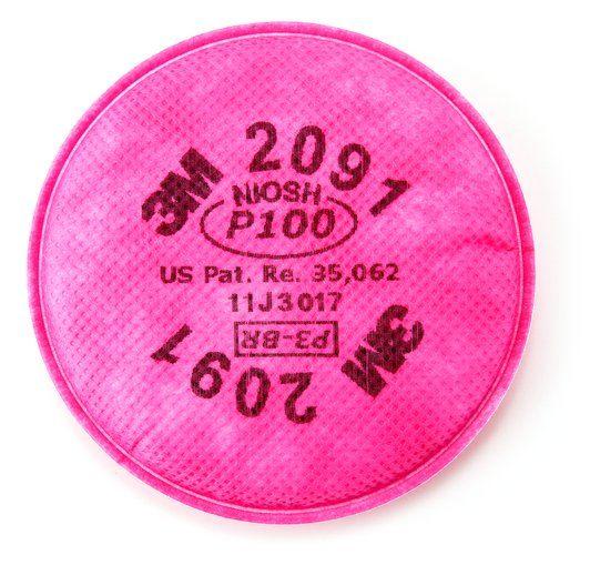 3M™ PARTICULATE FILTER 2091, P100