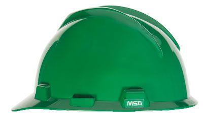 MSA V-GARD® HALF BRIM HARD HAT – GREEN