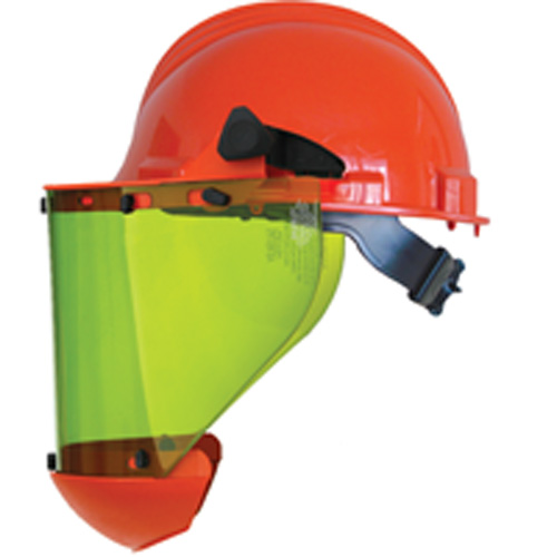 SALISBURY AS1000HAT-SPL ARC FLASH PROTECTION FACE SHIELD WITH HARD HAT (10 cal/cm2