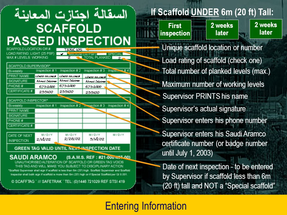 Scaffold Protection Safety