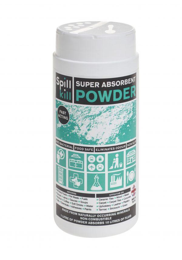 SPILL KILL SUPER ABSORBENT POWDER 500ML SHAKER SK-03-109