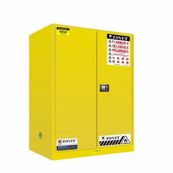 ZOYET FLAMABLE CABINET YELLOW 90 GALLON ZYC0090