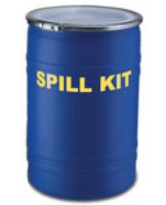 SPILL KIT UNIVERSAL 55 GALLON BLUE BIN