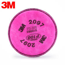3M™ PARTICULATE FILTER 2097, P100 WITH NUISANCE LEVEL ORGANIC VAPOR RELIEF