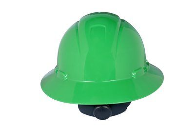 3M HARD HAT HEAD PROTECTION H804R GREEN FULL BRIM
