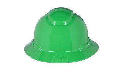 3M HARD HAT HEAD PROTECTION H804R GREEN FULL BRIM