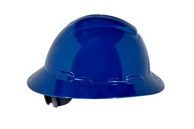 3M HARD HAT HEAD PROTECTION H810R BLUE FULL BRIM