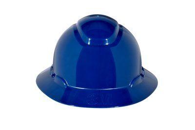 3M HARD HAT HEAD PROTECTION H810R BLUE FULL BRIM