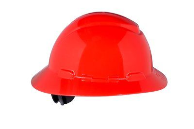 3M HARD HAT HEAD PROTECTION H805R RED FULL BRIM