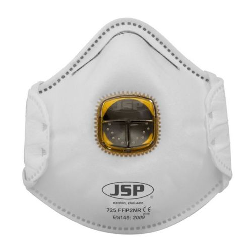 JSP TYPHOON MOULDED MASK FFP2 AV ODOUR VALVED (727)