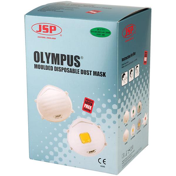 JSP FFP2 MASK VALVED, 821 (pack 10)BEQ122-201-000