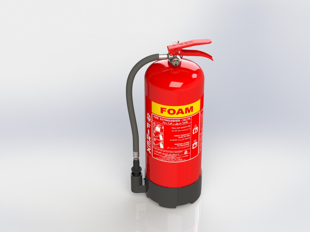 FOAM FIRE EXTINGUISHER 6 TO 12 LITER – FIREX