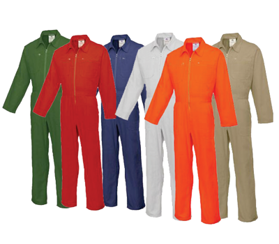 100% COTTON COVERALL 220 GSM