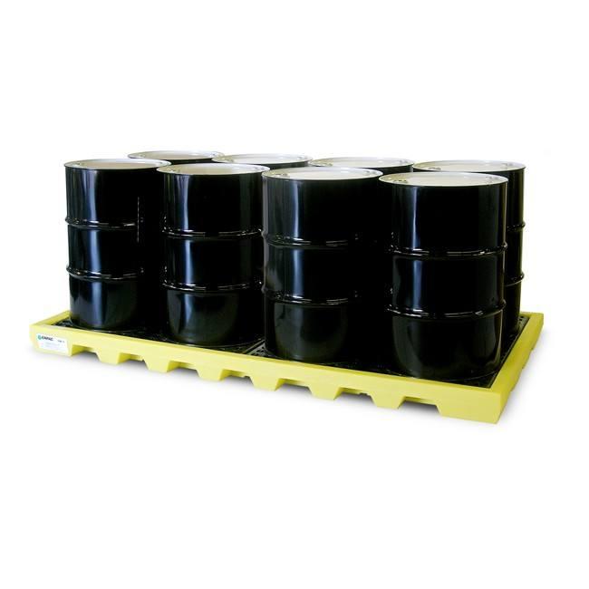 Spill Pallet 8 Drum Workfloor Enpac EN-5110-YE