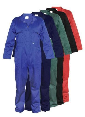 100% TWILL COTTON COVERALL 190 GSM