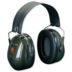 3M PELTOR OPTIME II, 31 DB EAR DEFENDER AND HEADBAND