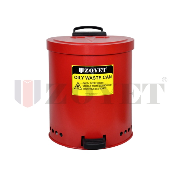 Fire Proof Oil Waste Can 35 liter Zoyet