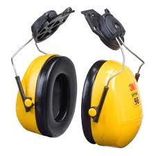 3M™ PELTOR™ OPTIME™ 98 CAP-MOUNT EARMUFFS, HEARING CONSERVATION H9P3E