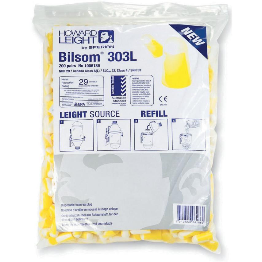 HONEYWELL BILSOM 303L FOAMPLUG REFILL 200PRS
