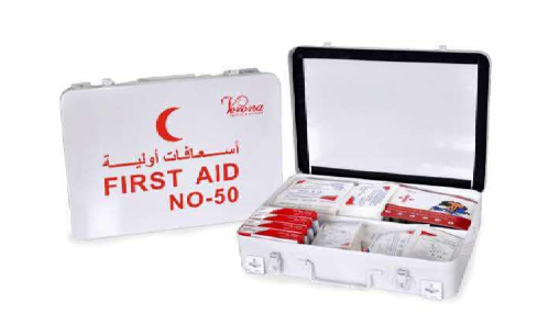 FIRST AID KIT 50 PERSON METAL BOX