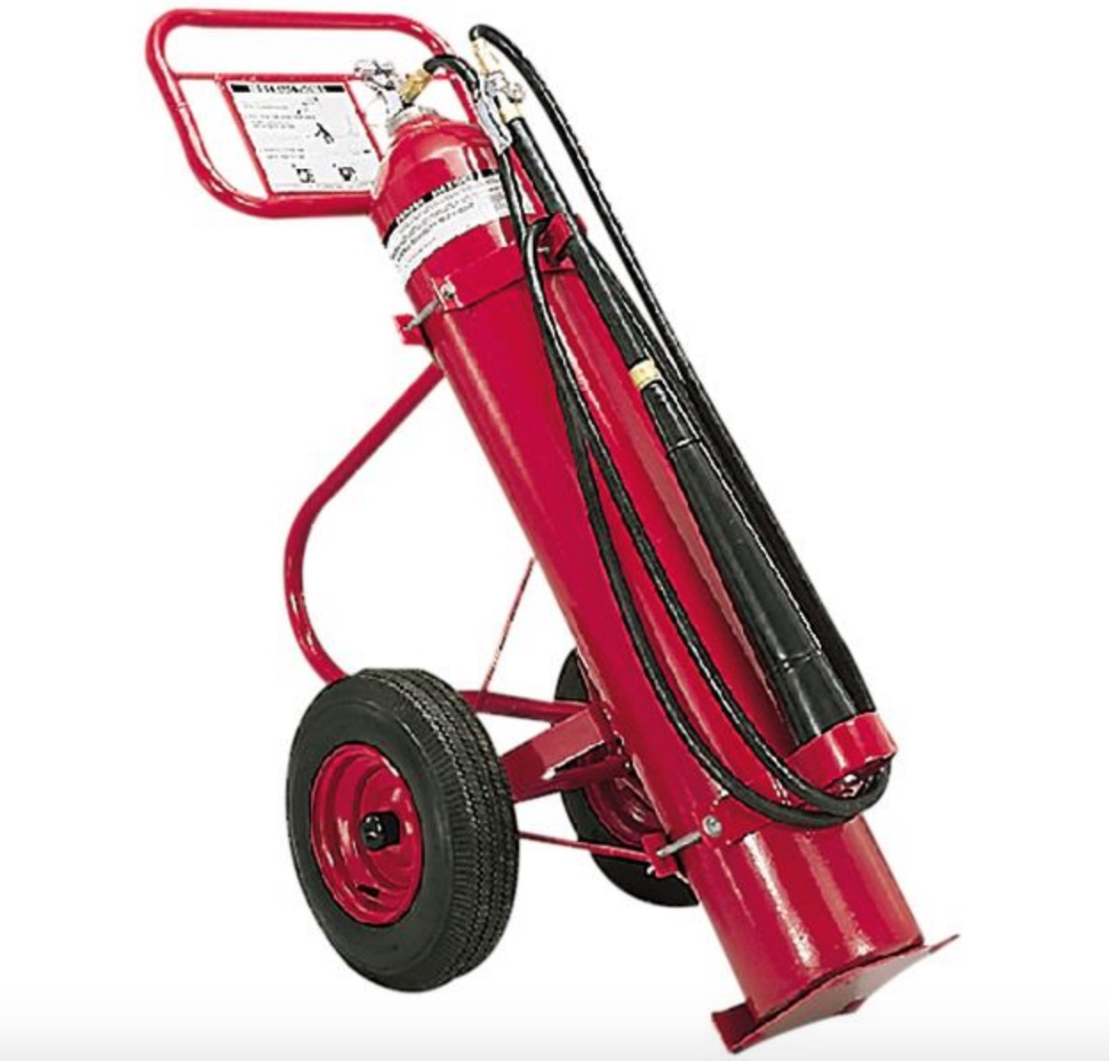 AMEREX CO2 WHEELED EXTINGUISHER