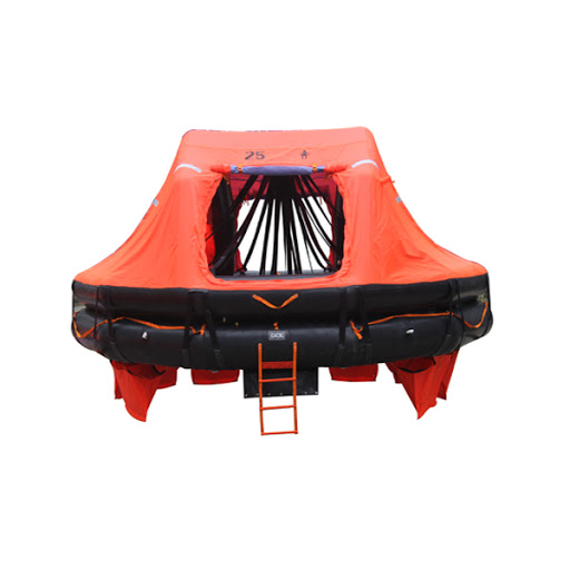 DAVIT-LAUNCHED TYPE INFLATABLE LIFE RAFT – ADL