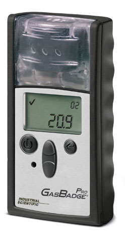 GasBadge Pro Single Gas Detector