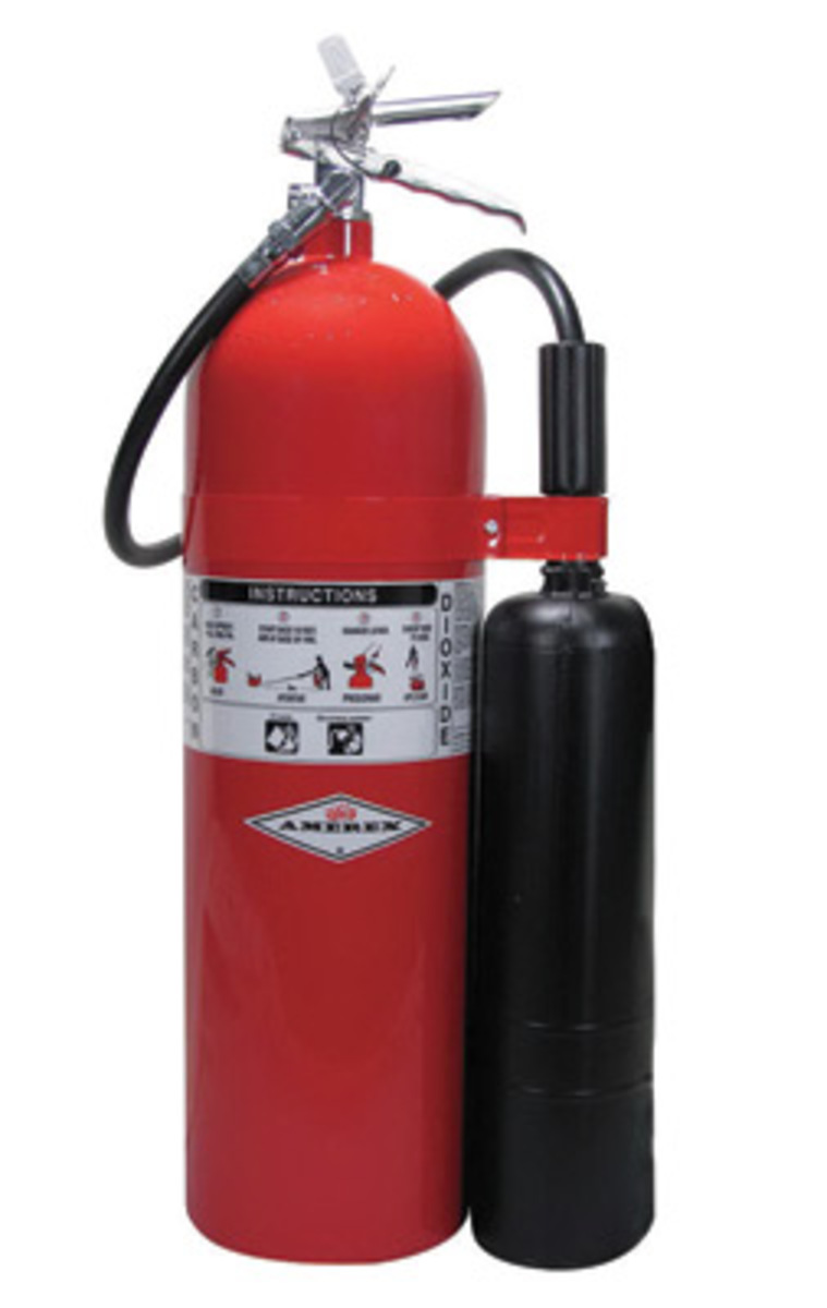 AMEREX CARBON DIOXIDE STORED PRESSURE EXTINGUISHERS