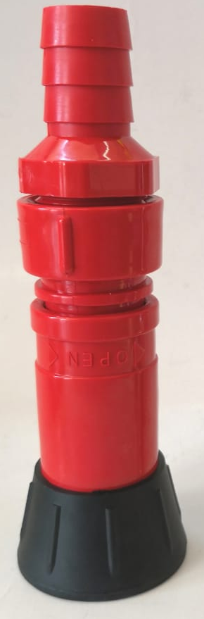 FIRE HOSE REEL NOZZLE (Manual Type, Plastic/Brass, Core Fire Hydrant Nozzle)