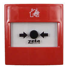 ZETA FIRE ALARM – Conventional Manual Call Point