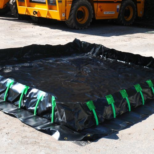 Ultra-Containment Berm® Stake Wall Model